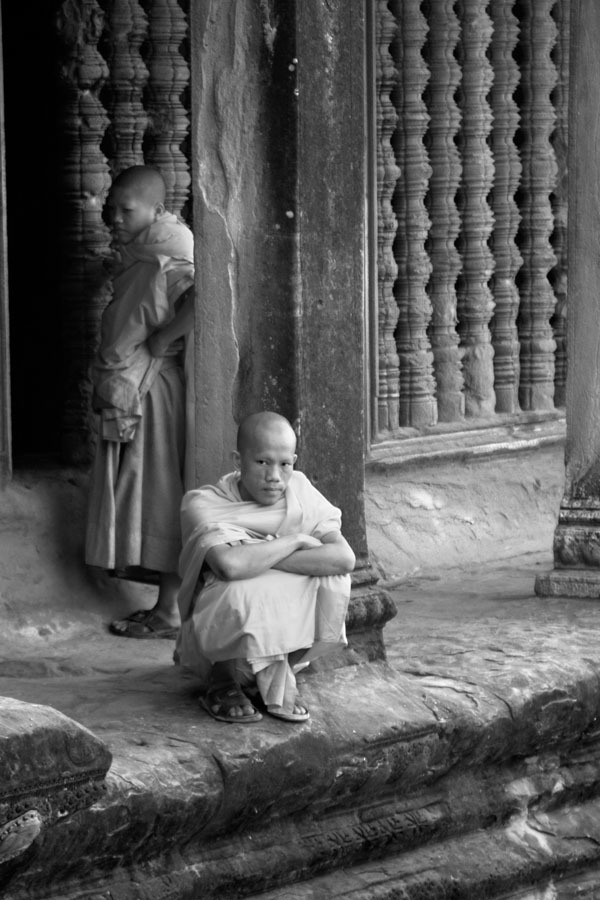 RESTING MONKS, 2005